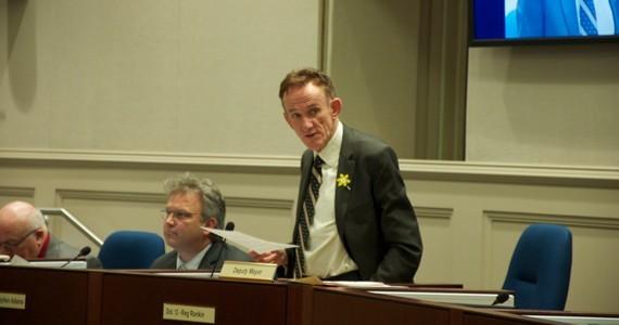 Timberlea-Beechville-Clayton Park-Wedgewood councillor Reg Rankin. - MEGAN RUDSON