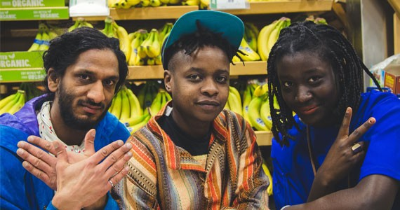DJs BUDI, Fadzwa and Shyshaya of BAHNAHNAH. - DYLAN CHEW