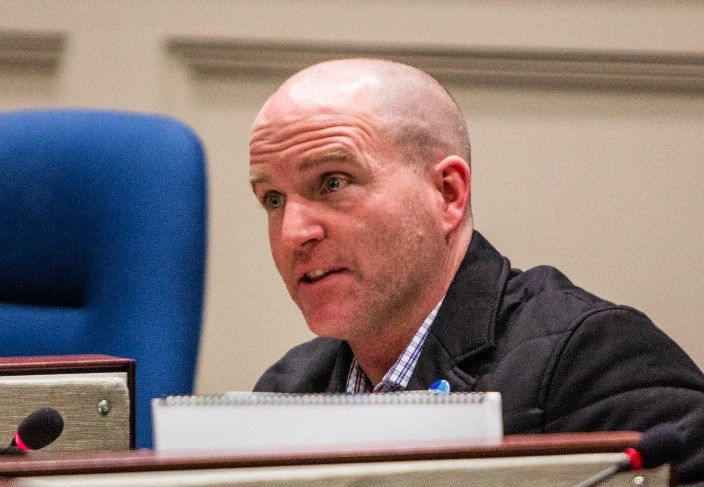 Matt Whitman says his colleague's motion will help avoid the kinds of controversial legal appeals that at present come to councillors for review. - RILEY SMITH