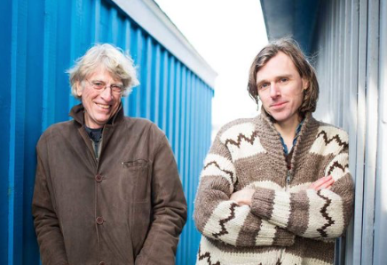 Joel Plaskett and his dad, Bill, rock the Rebecca Cohn (see 4). - LINDSAY DUNCAN PHOTO