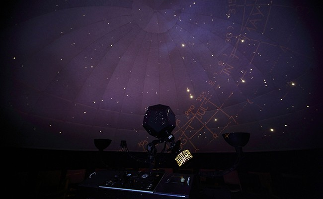 Halifax Planetarium watches the stars. - PETER KLAGES