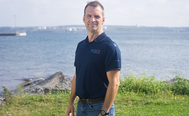 Sean Brilliant is manager of marine programs for the CWF. - IAN SELIG