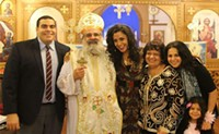 """""""It's not about receiving, it's about giving,"""" says Verena Rizg of Coptic Christmas"""