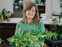 Audrey Flanders, plant expert