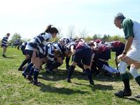 Scrum kind of wonderful: rugby is back in Nova Scotia high schools.