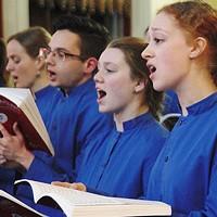 The King's Chapel Choir's heavy splash of eternal