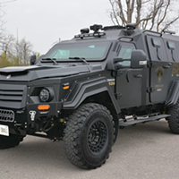 Halifax Police swings its Big Truck Energy