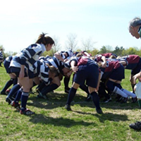 Rugby taught me: My body is good. My body is athletic.