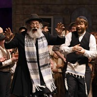 The <i>Fiddler on the Roof</i> plays on