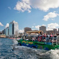 The Harbour Hopper prepares for a summer with no tourists