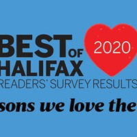The Coast is back with the 26th annual Best Of Halifax readers' survey results