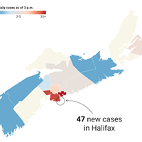 146 new cases and better Coast data delivery May3