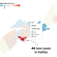 COVID cases and news for Nova Scotia on Wed, May 12