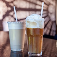 Cold as ice: coffee and tea on the rocks