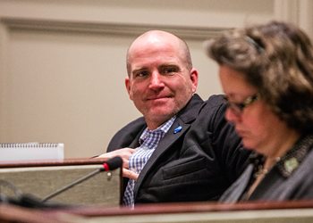 Matt Whitman stands by white supremacists' message