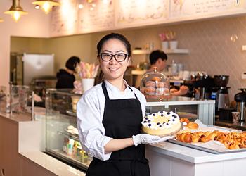 Where I Work: Creamy Rainbow Bakery and Cafe