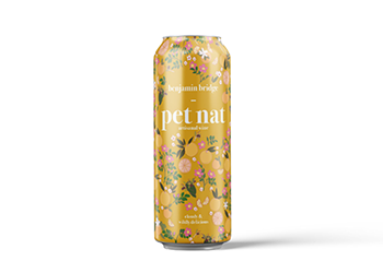 DRINK THIS: Benjamin Bridge's Pet Nat in a can