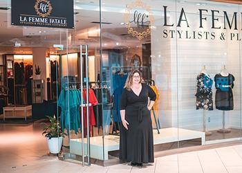 La Femme Fatale brings plus-sized bodies more than monotone basics