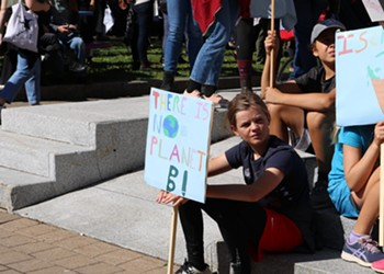 Youth lawsuit draws attention to climate crisis