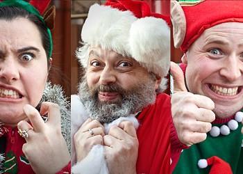 Kick at the Dark Theatre's dark Christmas