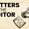 Letters to the editor, September 12, 2019