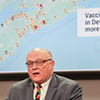 Provided nothing major changes in terms of vaccine distribution, Strang gave the breakdown of who'll get a vaccine when, by five-year increments. COMMUNICATIONS NOVA SCOTIA