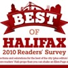 Best Of Halifax 2010 Readers' Survey Winners