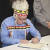 Chief Terrance Paul or Membertou First Nation is one of many to sign the new health-care data-sharing agreement.