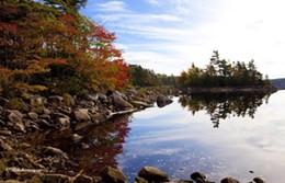 MIKEHARVEY.CA VIA LONGLAKEPARK.CA - Reflections of Long Lake Provincial Park