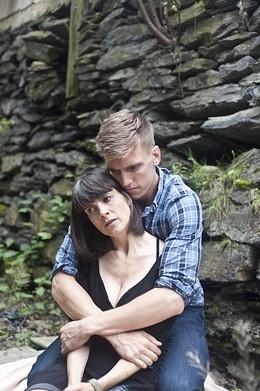 RACHEL CHISHOLM - Leaving Wonderland's Genevieve Steele and Adrian Shepherd-Gawinski.