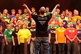 SIMON ABBOTT - Leaving in August on a fundraising trip, Abbott isn't turning his back on the choir.