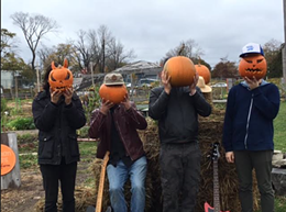 The Pumpkin Smashers in action!