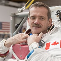 Unique Lives and Experiences presents Chris Hadfield, this Sun., November 16 at the World Trade and Convention Centre.