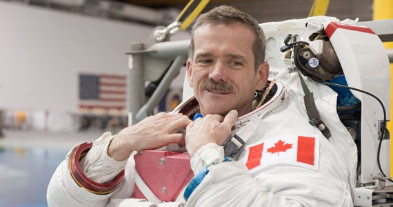 Unique Lives and Experiences presents Chris Hadfield, this Sun., November 16 at the World Trade and Convention Centre. - NASA