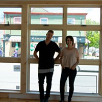 Vegan visionaries Cory Urquhart and Diandra Phipps in their soon-to-be resto