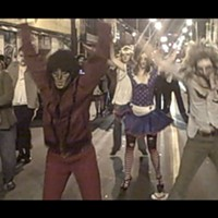 Video: Michael Jackson's Thriller shuts down Gottingen