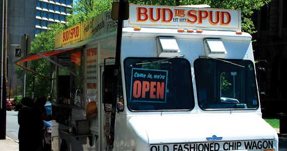 We survey old standby Bud the Spud, along with Halifax's newer street food offerings. - MATTHEW MORGAN