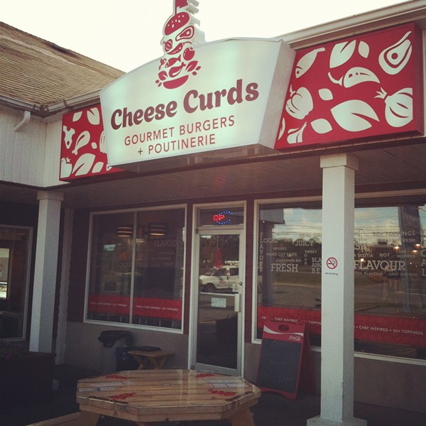 WHERE Halifax Magazine's Best New Restaurant is Cheese Curds