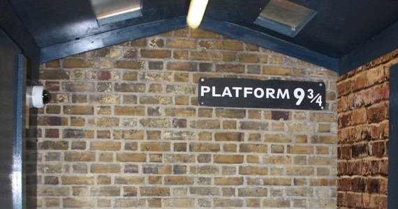 Where to catch the Hogwarts Express.