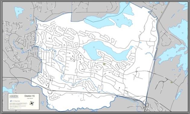 Lower Sackville Map