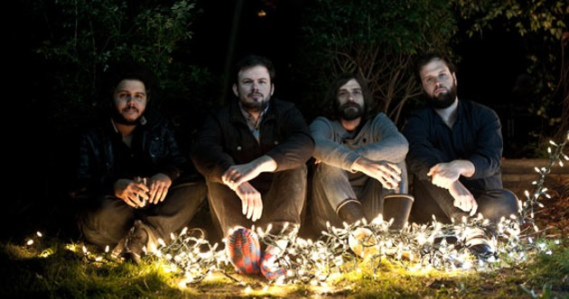 Wintersleep lights up the stage on Saturday. - SCOTT MUNN