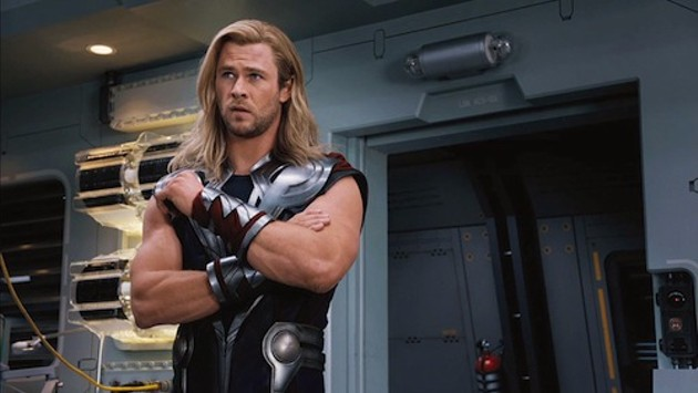 Wow, I bet his muscles are Thor