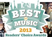Your Best of Music 2013 results