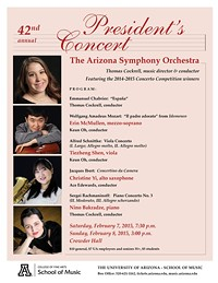 42nd Annual President's Concert: Arizona Symphony Orchestra & Soloists