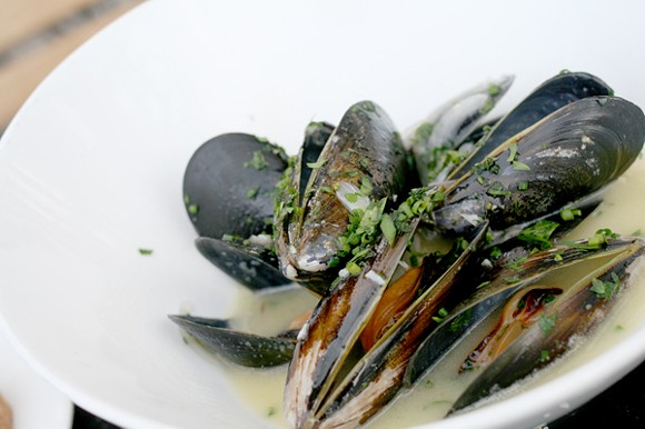 $7 for a plate of mussels at Maynard's is kind of a steal. - HEATHER HOCH