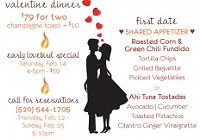 A Couple's Valentine Dinner - All Weekend