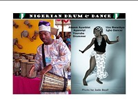African dance and drum workshops after the Tucson gem and mineral show