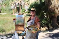 "PHOTO: GAY SCHEIBL - ""Aleada Paints Agua Caliente Park"""