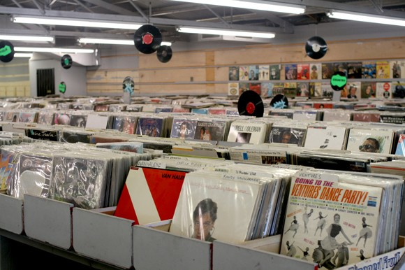 An almost overwhelming amount of records is waiting for you at PDQ. - HEATHER HOCH