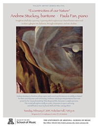 "Baritone Andrew Stuckey and Pianist Paula Fan: ""Eccentricities of our Nature"""